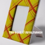 Yellow & Orange Tabletop Picture Frame 4X6 Inch