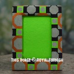 Mixed Colors 5X7 Tabletop Picture Frame