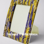 Boho Colors Paper Made Tabletop Picture Frame 5x7 Inch