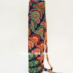 Multi Colorful Blossom Mandala Yoga Mat Bag Cover