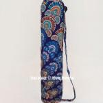 Blue Blossom Mandala Yoga Mat Bag Cover