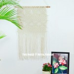 Hand Knitted Woven Macrame Wall Hanging Tapestry