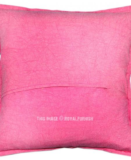 Throw Me A Pillow Coupon Code : Indian Pink Patchwork Camel Throw Pillow Case - RoyalFurnish.com