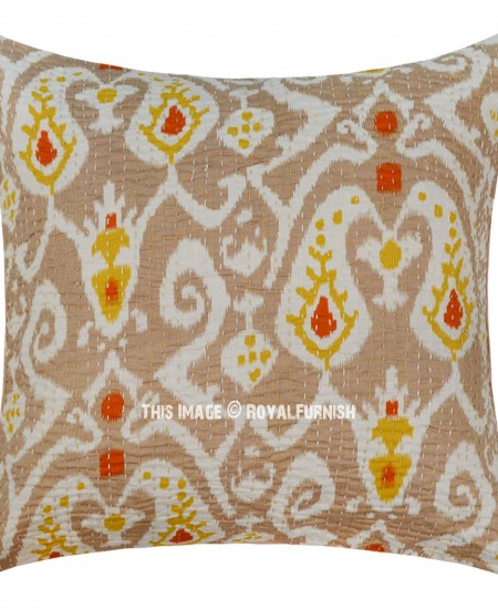 Handmade Ikat Throw Pillows : 16